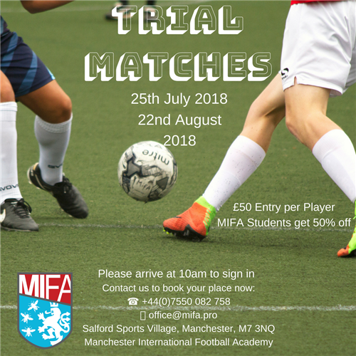 Trial Matches